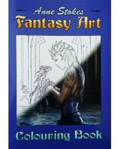 Anne Stokes Fantasy Colouring Book