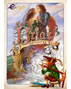 Briar Colouring Book