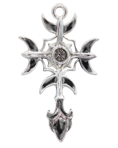 Gothic Moon Cross